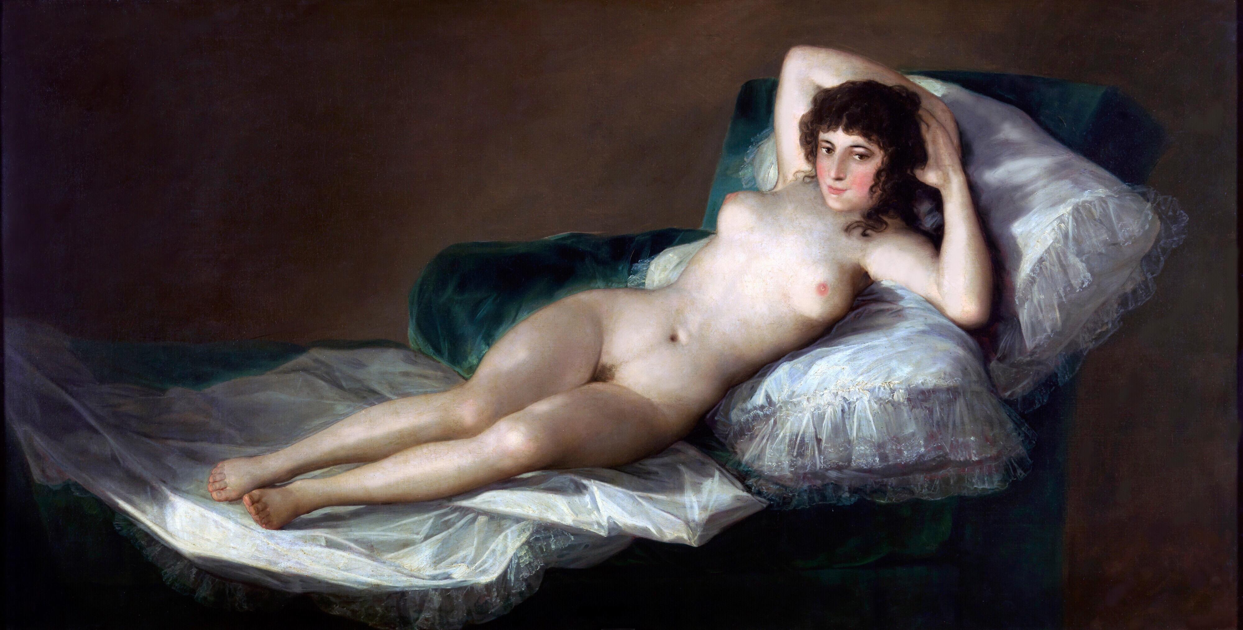 Modified Goya Nude MAJA