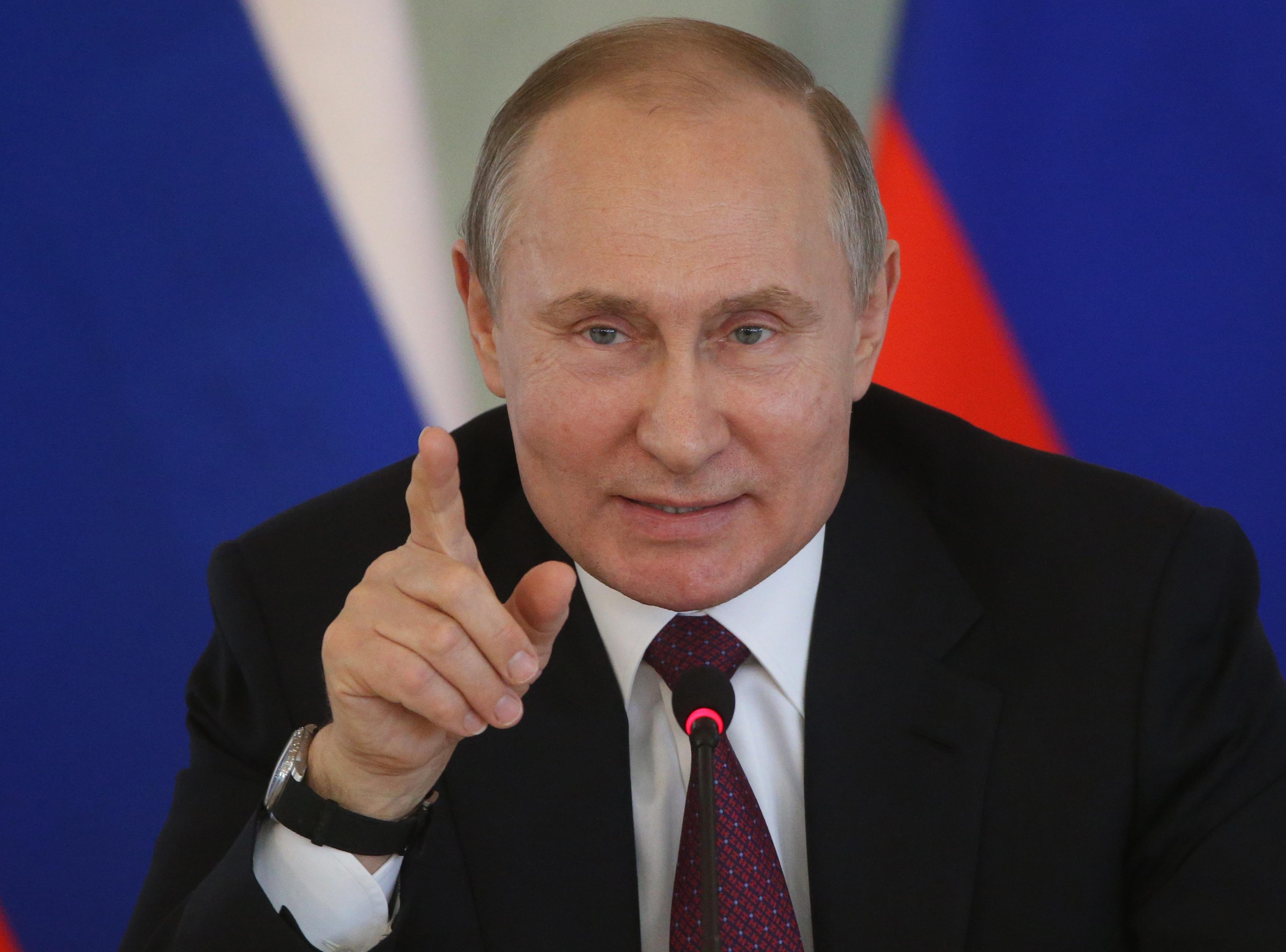 Russian President Vladimir Putin visits Saint Petersburg