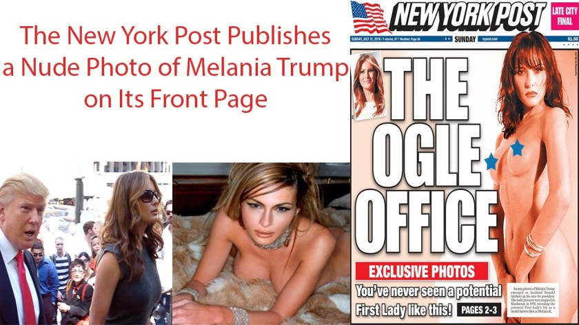 melania new york post